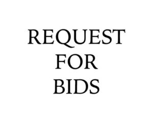 Request for Bids Image