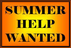 Summer Help Wanted Image