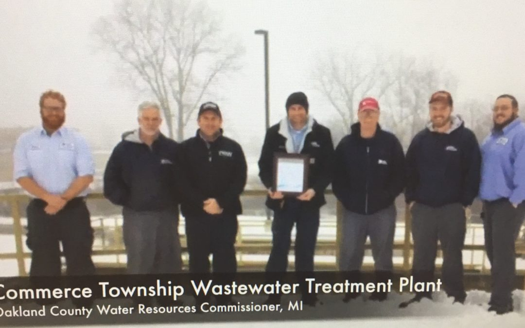 Commerce Township Waste Water Treatment Plant Wins Award