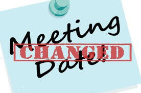 Meeting Date Change