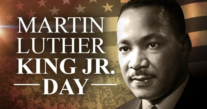 CLOSED for Martin Luther King, Jr. Day