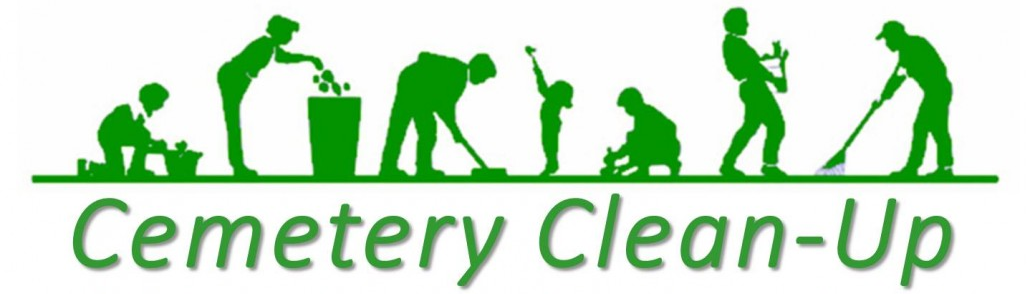 cemetery spring cleanup
