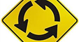 Image of a Roundabout sign