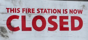 Fire Station 3 CLOSED for Rebuild