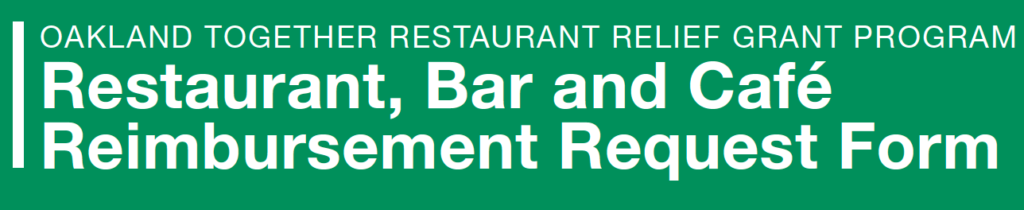 Restaurant Relief...click here to apply
