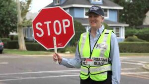 Picture of a crossing guard