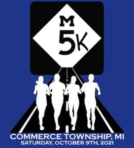 m5-k race logo