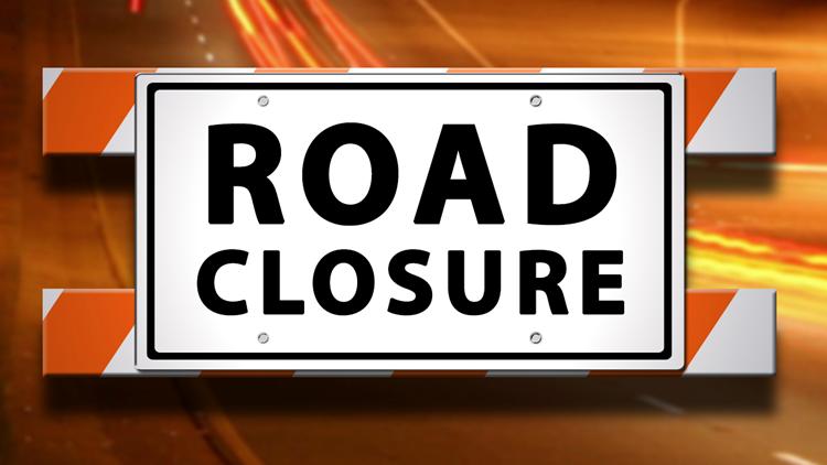 Road Closure announcement